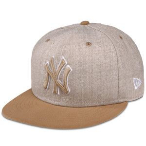 Yankees Heather League Basic 59FIFTY Fitted Cap