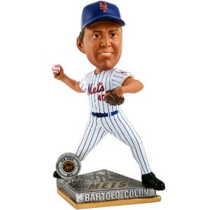 Bartolo Colon New York Mets Player Action Bobblehead