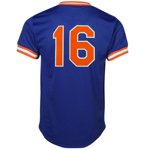 newest 1dfcc ab9a2 Dwight Gooden New York Mets Mitchell & Ness Cooperstown Mesh Batting  Practice Jersey
