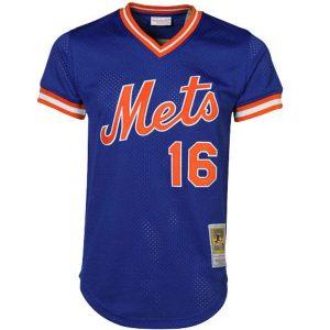 Dwight Gooden New York Mets Mitchell & Ness Cooperstown Mesh Batting Practice Jersey