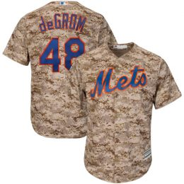 Jacob deGrom New York Mets Majestic Cool Base Player Jersey