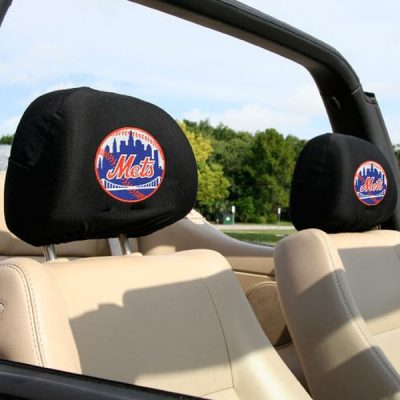 Mets 2-Pack Headrest Covers