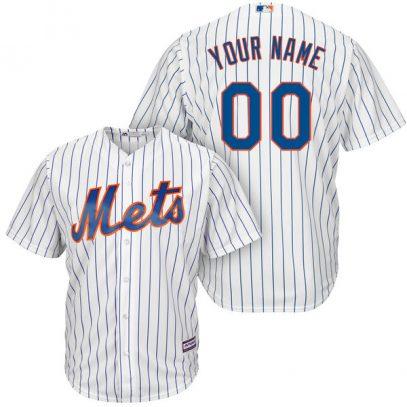 Mets Majestic Cool Base Custom Jersey