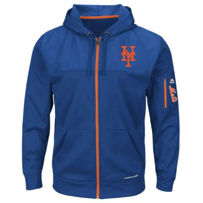 Mets Majestic Payback Moment Full-Zip Hoodie