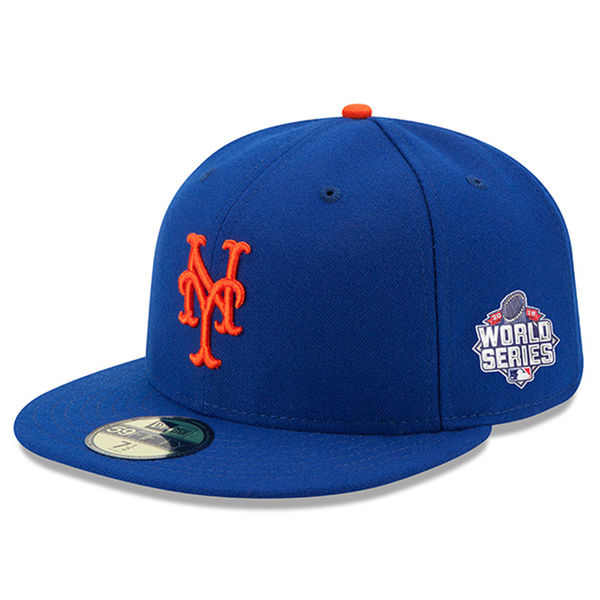 Mets New Era 2015 World Series Game Bound Side Patch 59FIFTY Fitted ... 9655bf76a0c