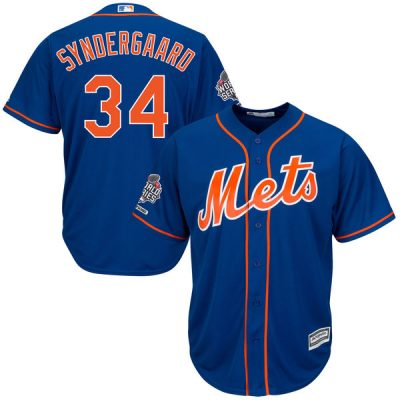 Noah Syndergaard New York Mets Majestic 2015 World Series Bound Cool Base Player Jersey