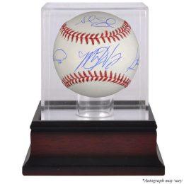 Steven Matz, Noah Syndergaard, Jacob deGrom New York Mets Fanatics Authentic Autographed Baseball