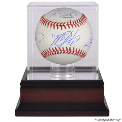 Steven Matz, Noah Syndergaard, Jacob deGrom New York Mets Fanatics Authentic Autographed Baseball