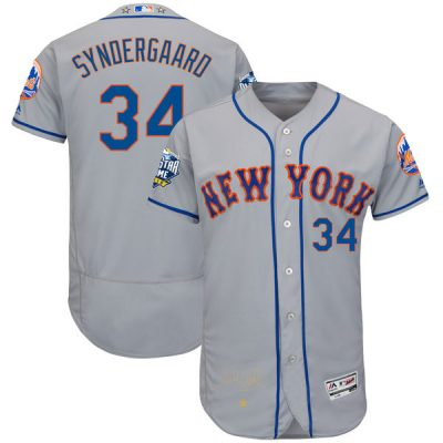 Noah Syndergaard New York Mets Majestic 2016 MLB All-Star Game Signature Flex Base Jersey