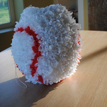DIY Baseball Piñata