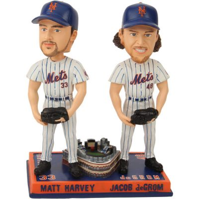Jacob DeGrom/Matt Harvey New York Mets Bobblehead
