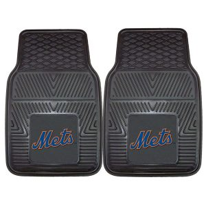 Mets 27″ x 18″ 2-Pack Vinyl Car Mat Set