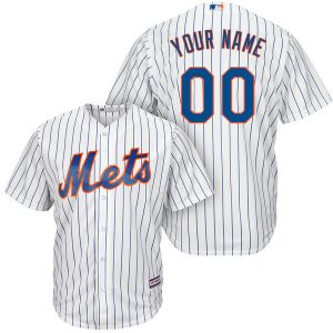 Mets Majestic Cool Base Custom Jersey