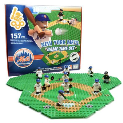 Mets OYO Sports Collectible Minifigure 157 Piece Game Time Set