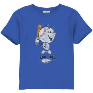 Mets Toddler Distressed Mascot T-Shirt