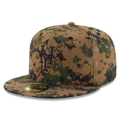 New York Mets New Era 2016 Memorial Day 59FIFTY Fitted Hat – Digital Camo
