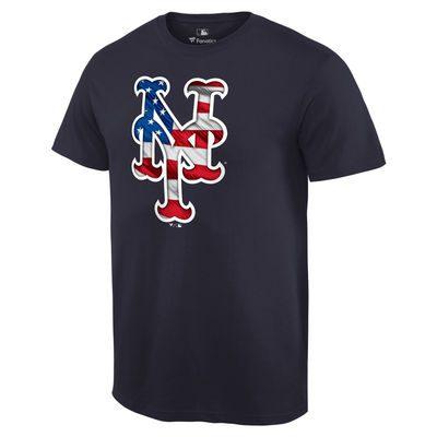 New York Mets Banner Wave T-Shirt – Navy