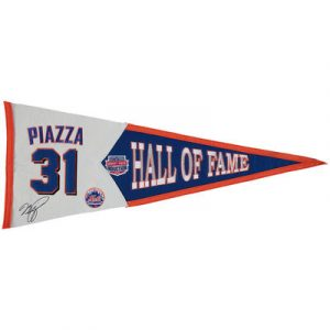 Mike Piazza New York Mets Player Pennant